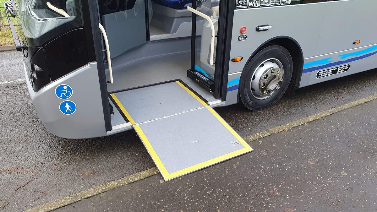 Lowering Suspension and Wheelchair Ramp - Click to Enlarge