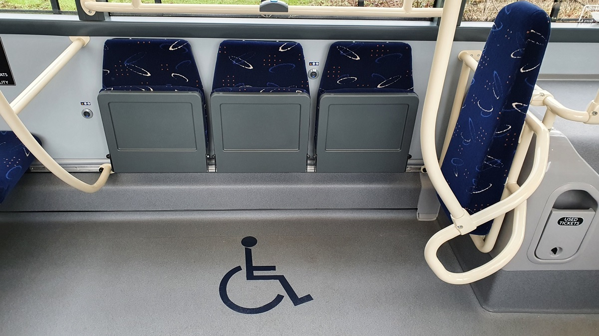 Wheelchair space - Click to Enlarge